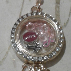 "Jewelry - NEW ""Hope"" Memory Locket Bracelet"